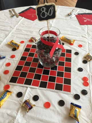 Checkerboard Centerpiece